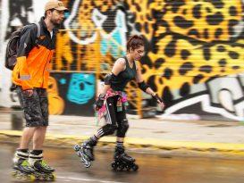 Alta velocidad en patines