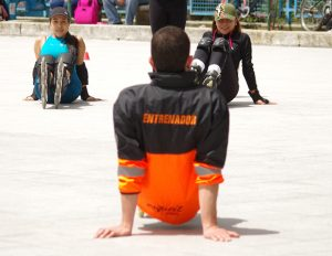 Entrenamiento Fitness en Patines del Roller Fit Club