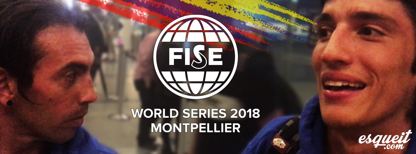 Skate y Roller Freestyle Colombiano en FISE Montpellier 2018