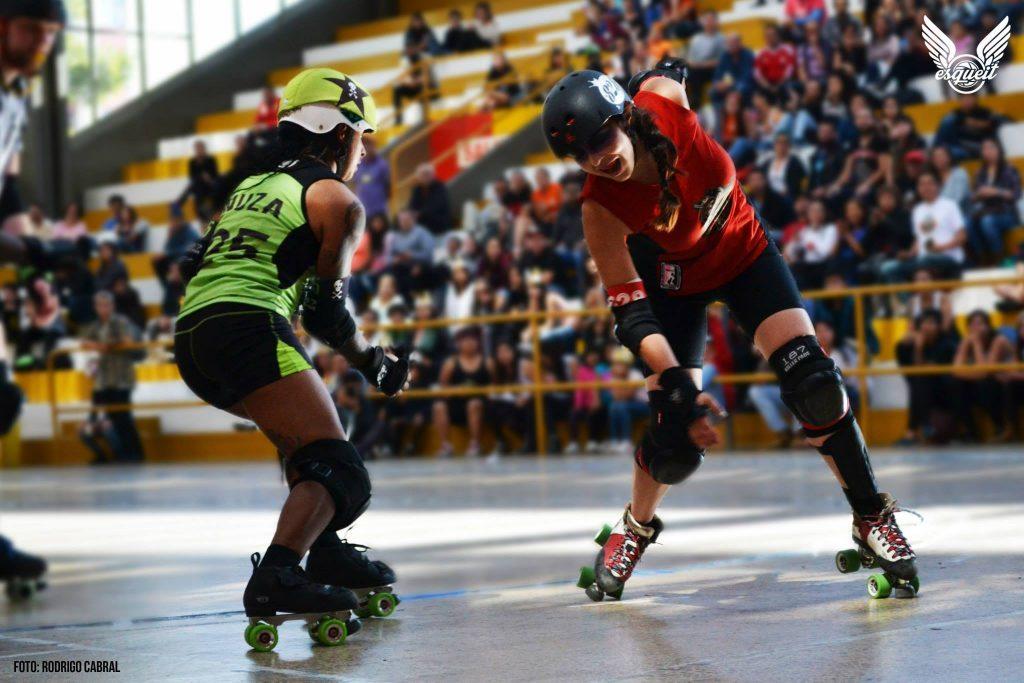 Roller derby, deporte de contacto