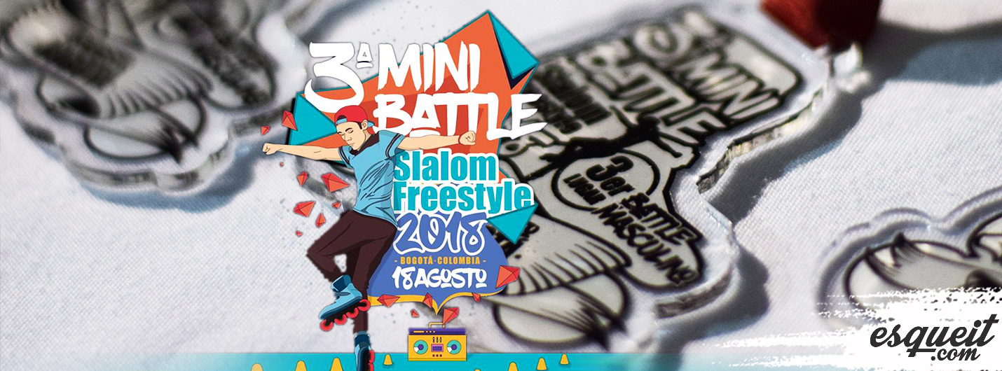 3er Minibattle Freestyle Slalom 2018