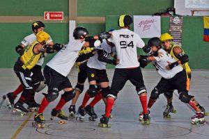 3er torneo distrital de roller derby en Bogotá