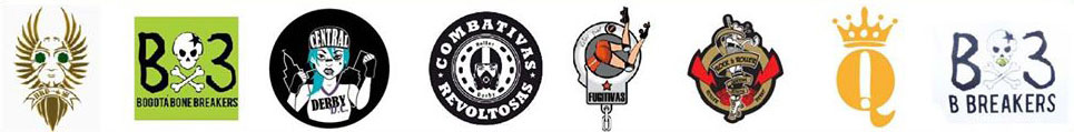 Equipos segundo torneo distrital de roller derby Bogota