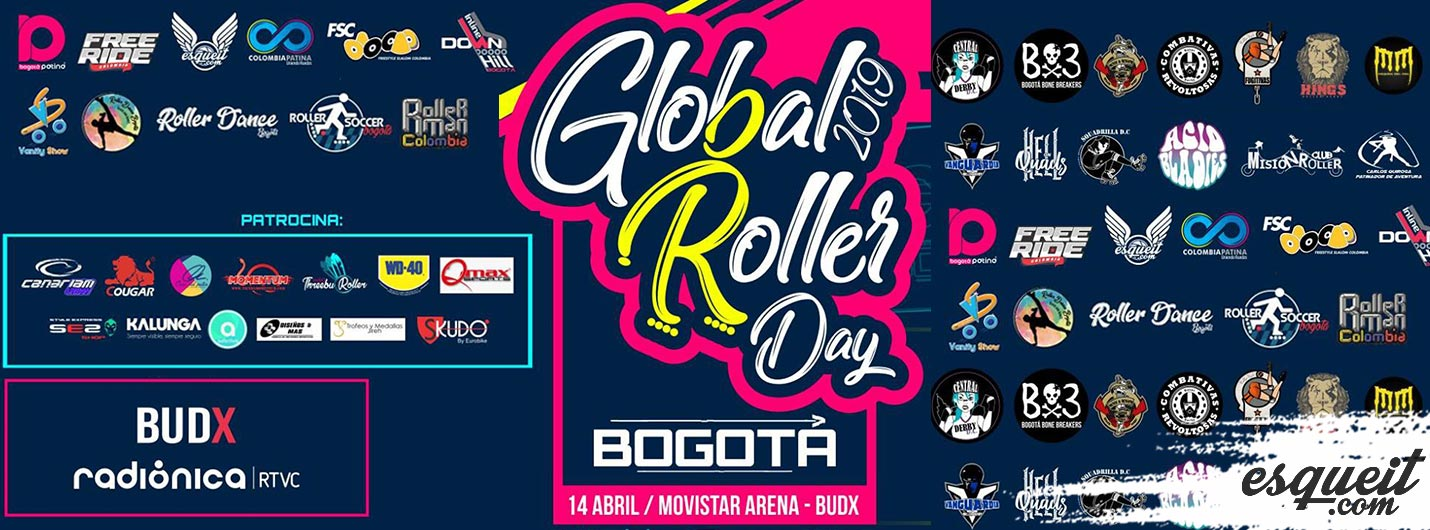 Global roller day bogota 2019