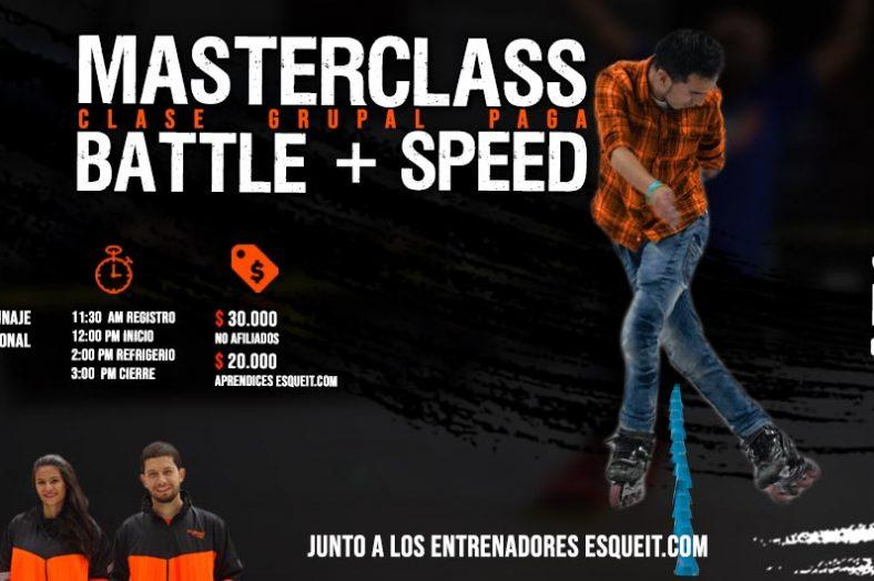 Masterclass Battle y Speed Slalom con Jonathan Mendez