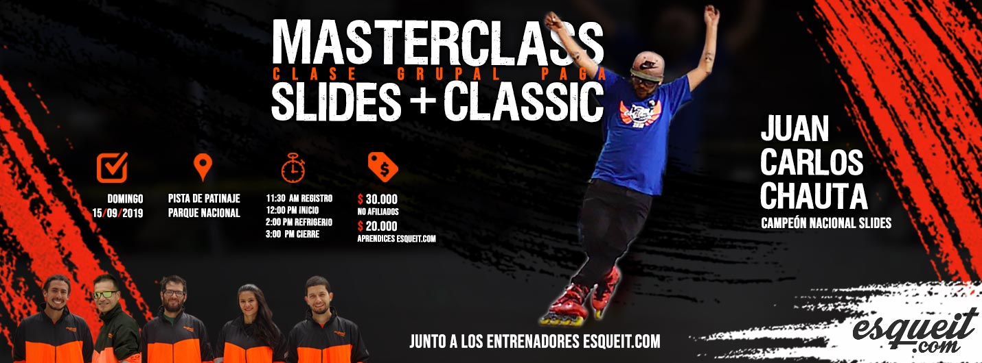 Masterclass Slides y Classic con Jonathan Mendez