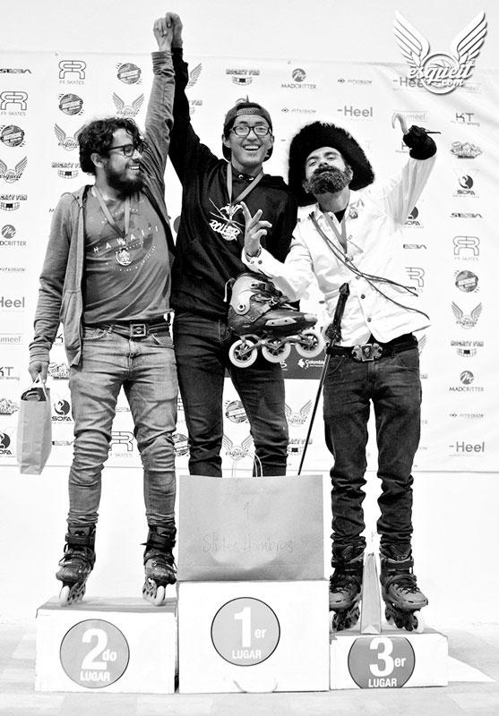 Premiación 3ra Copa Colombia Slalom Slides