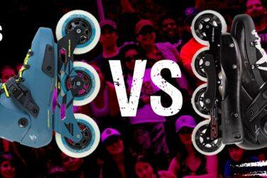 Diferencia patines en línea de 3 y 4 ruedas