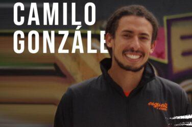Patinador Camilo González